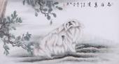 工笔画家周忠宇动物画《志存高远》