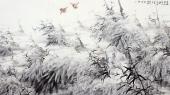 【询价】一级美术师李成林大六尺冰雪《再现琼枝白玉身》
