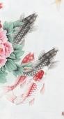 【已售】中央美院刘志高四尺竖幅精品工笔《》