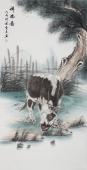 安徽美协云志四尺工笔动物画《祥瑞图》